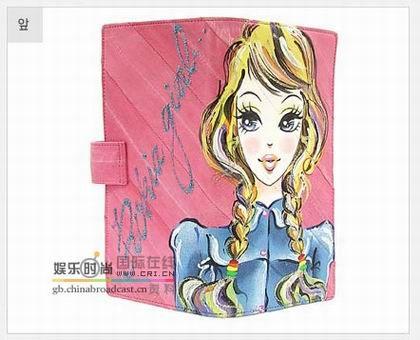 水粉手绘时尚钱包国际在线-富民服装城