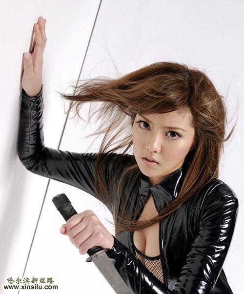 鱼网Yumi中国性感模特挑战极限性感香港模特不是内衣美丽骚妖不是图片